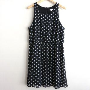 SUPER SALE Polka dot silk Xhilaration dress