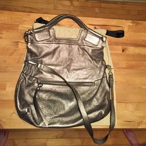 Foley + Corinna pewter mid-city bag