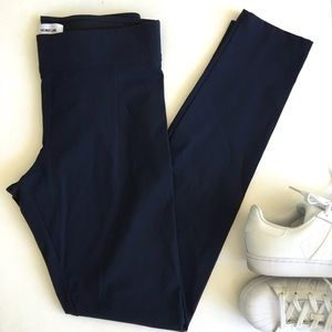 Helmut Lang Pants - Helmet Lang Reflex Legging in Uniform Blue