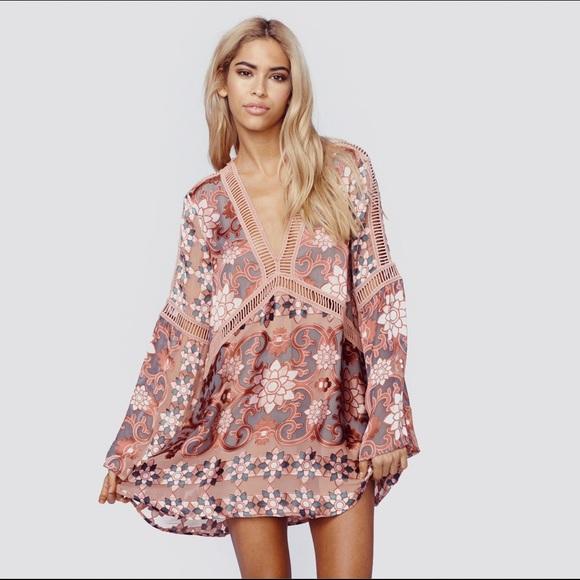 6d7f885b8d FOR LOVE   LEMONS Juliet A-Line Mini Dress