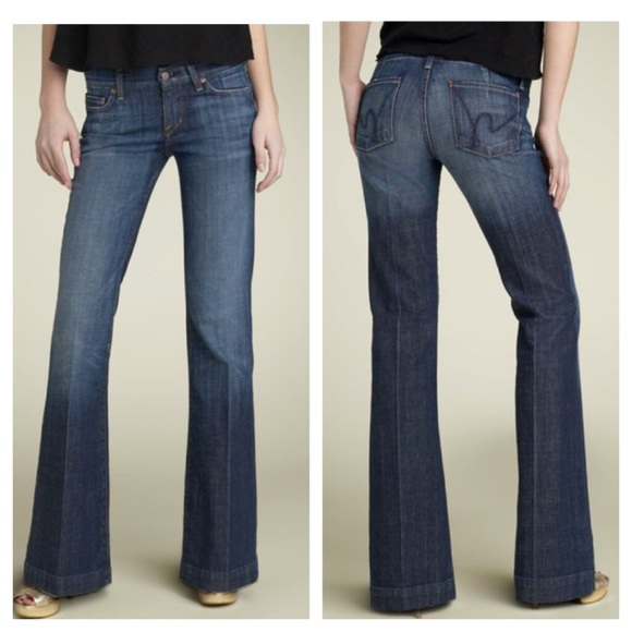 Citizens of Humanity Denim - COH Faye low waist full leg