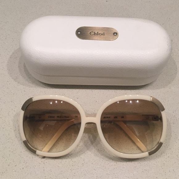 44f6c06ca316 Chloe Accessories - Chloe Sunglasses round oversized frames w  case