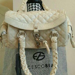 Francesco Biasia Handbags - 🔥 SALE, Francesco Biasia Cream Leather Bag*