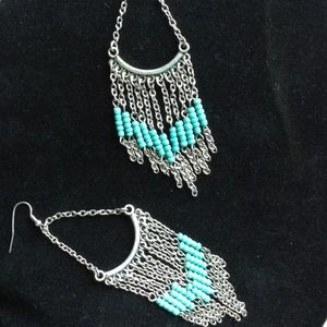 NEW Boho Fringe Beaded Earrings