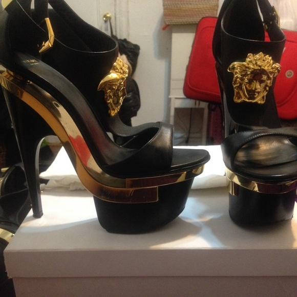 Versace Shoes Platform Heels Poshmark