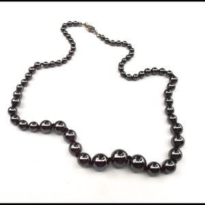 Jewelry - Lovely Metallic Luster Hematite Necklace