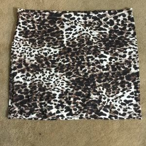 Cheetah print skirt!!