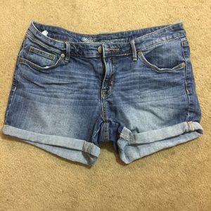 Jean shorts! New
