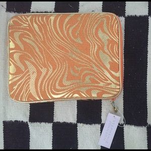 Stephanie Johnson orange swirl iPad case tablet