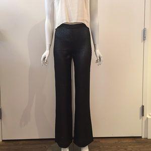 L'AGENCE Metallic Pants Size 2