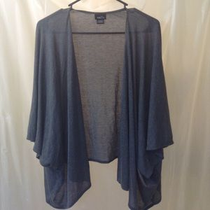 Gray Lightweight Cardigan