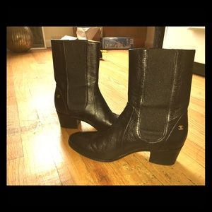 Chanel Boots Size 39