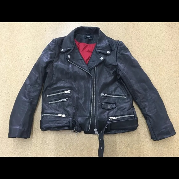 b216cf79ad The Kooples Women's Leather Jacket. M_57681988713fde094a0572b9