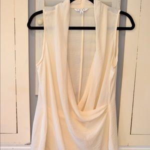 CAbi scoop-neck dressy blouse