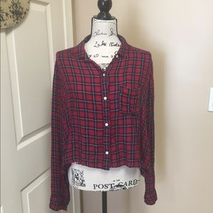 Abercrombie&Fitch Cropped Flannel