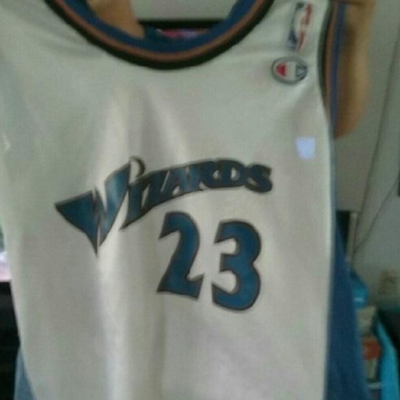 cheap for discount 91f3a 74664 VINTAGE Washington Wizards Jordan 23 Jersey