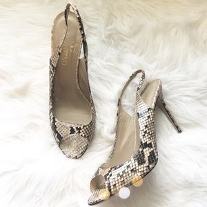 Valentino Shoes - Stunning Authentic Valentino Python Heels