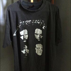Metallica Original Concert Tour Shirt