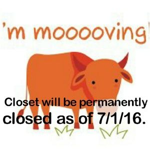 Closet will be closed,company is still in business
