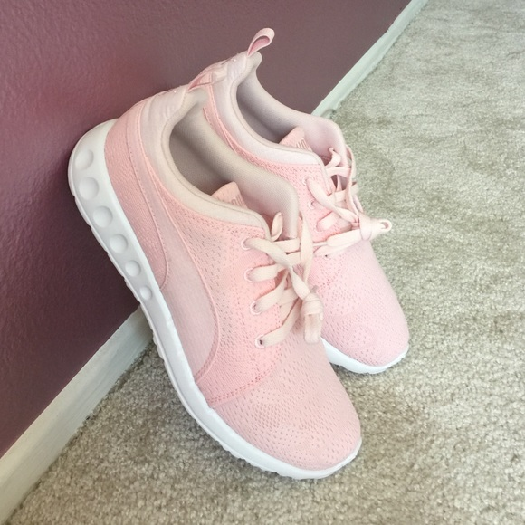 Blush Pink Puma Carson Runners Athletic