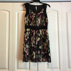 Kensie Dresses & Skirts - Kensie Multicolored Zip-up Sleeveless Dress