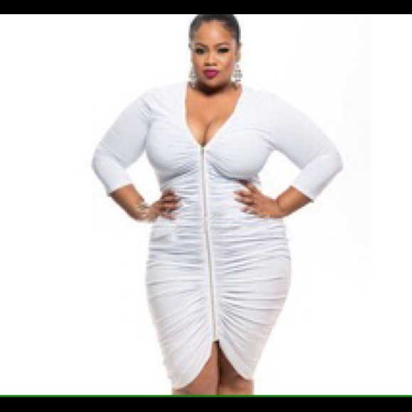 Dresses Plus Size All White Dress New Without The Tags Poshmark