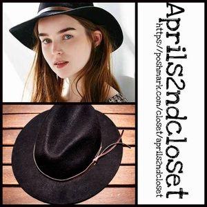 Panama Hat Wide Brim Fedora Crown