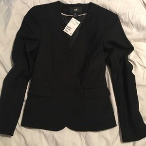 New H&M black Blazer