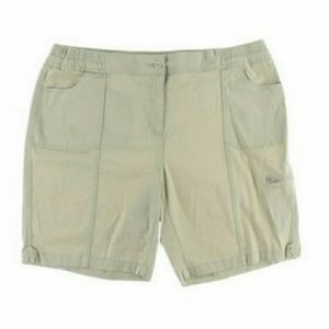 White Karen Scott shorts on Poshmark