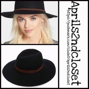 PANAMA FEDORA HAT Suede Strap