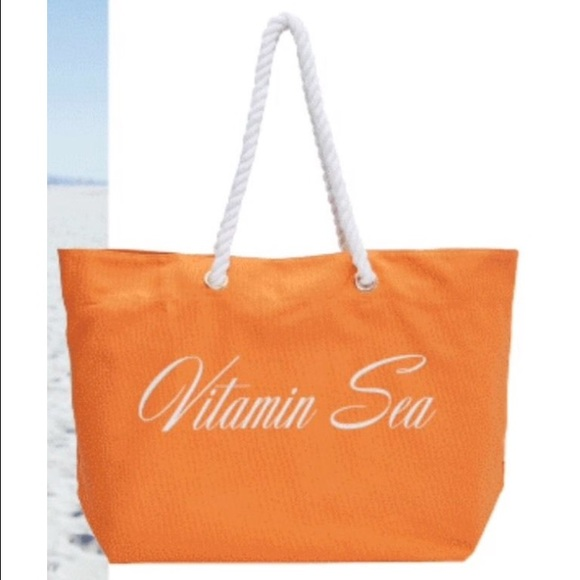 65% off Trina Turk Handbags - NWT Trina Turk Vitamin Sea orange ...