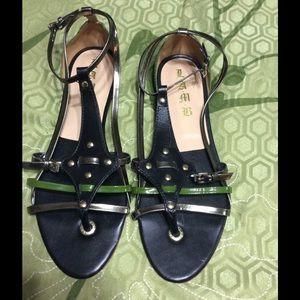 Lamb Leather Sandal SZ10.       $125