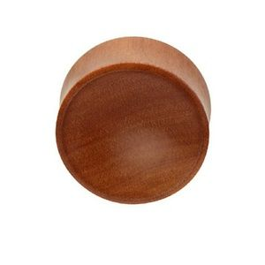 Jewelry - Red Saba Wood Plug
