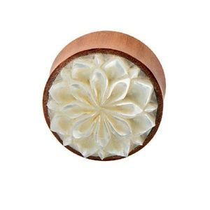 Jewelry - Saba Wood  with Mother of Pearl Inlay