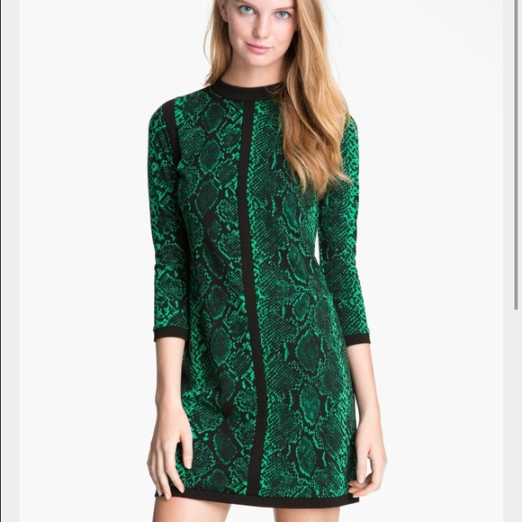 5894cc773f Juicy Couture Dresses   Skirts - FINAL   DROP Juicy Couture Green Snake Print  Dress