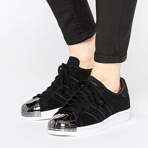 Adidas Original Superstar 80's Metal Toe Sneakers