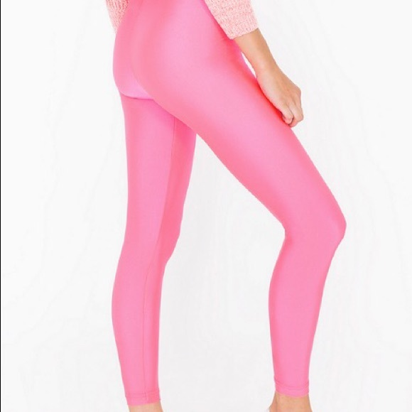 1d542d0664168 American Apparel Pants | Brand New Shiny Nylon Leggings | Poshmark