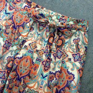 Anthropologie Pants - Moroccan print pants