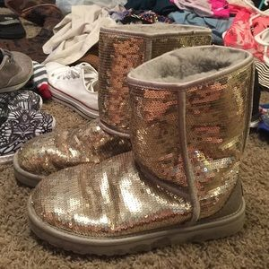 uggs sparkly