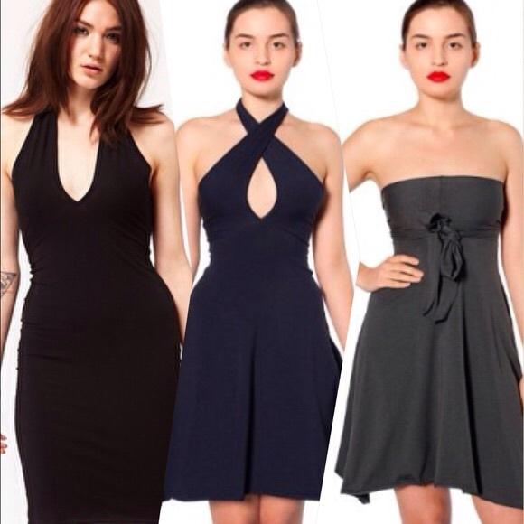 American Apparel Dresses   Skirts - American Apparel convertible dress 082378171