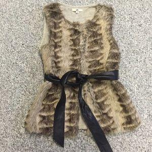 Ya Los Angeles Jackets & Blazers - Boutique faux fur vest