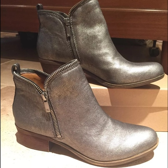 Lucky Brand Bartalino Womens Ankle Boot Brown Leather