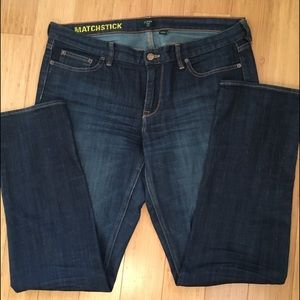 J. Crew Matchstick (Straight) Jeans