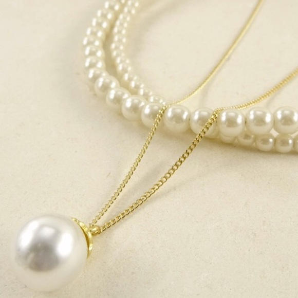 Boutique Last Chance 🎉2x Hp🎉 Wendy Pearl Necklace
