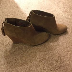 Shoes - Anne Klein Torny wedge bootie
