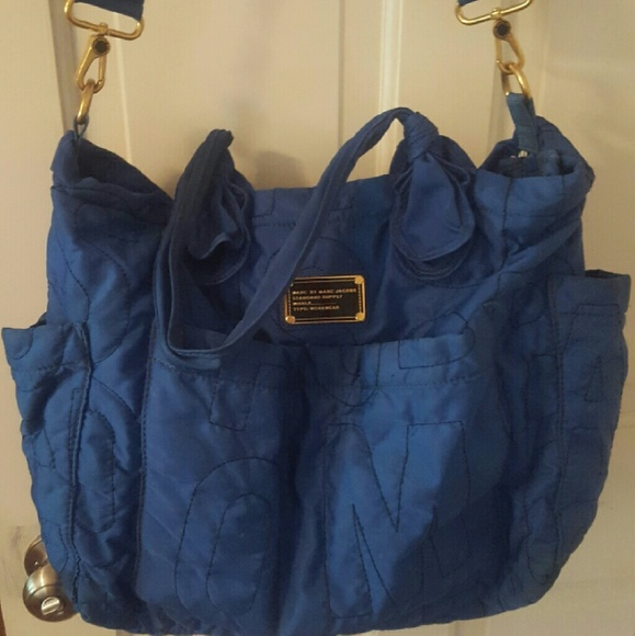 58 off marc by marc jacobs handbags marc by marc jacobs diaper bag from ta. Black Bedroom Furniture Sets. Home Design Ideas