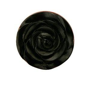 Jewelry - Saba Wood Plug with Arang Wood Rose Inlay