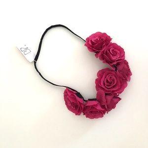 2XHost PickBP NWT CUTE Floral Crown Headband
