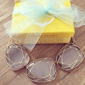 RESERVED - Kendra Scott Necklace and Graham Cuff