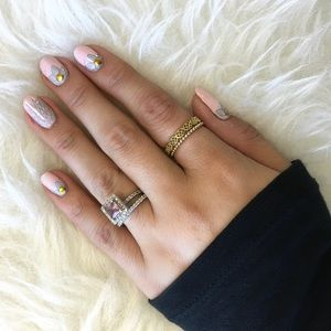 Jewelry - Antique Inspired Ring Duo